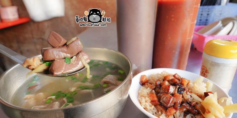高雄鼓山區美食 吳家50年豬血湯-內行人才知道的份量多又不貴大腸豬血湯