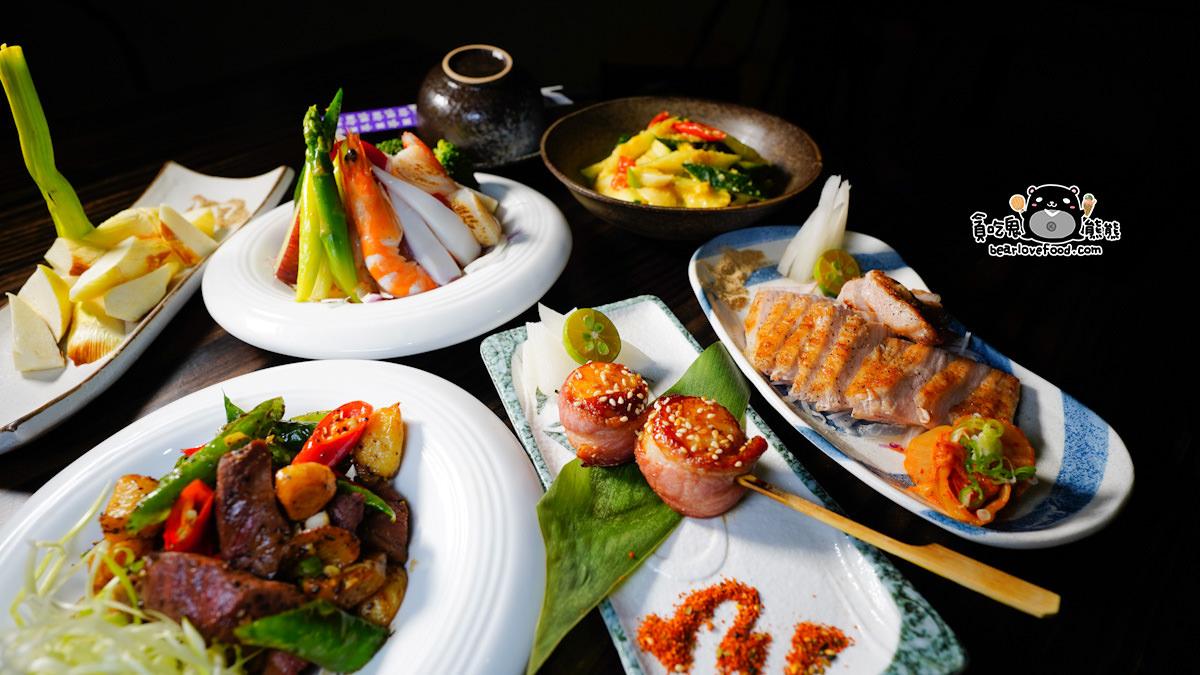 高雄左營區美食 小料理食堂-精緻餐點,新鮮食材,用心品味現做日本料理與烤物