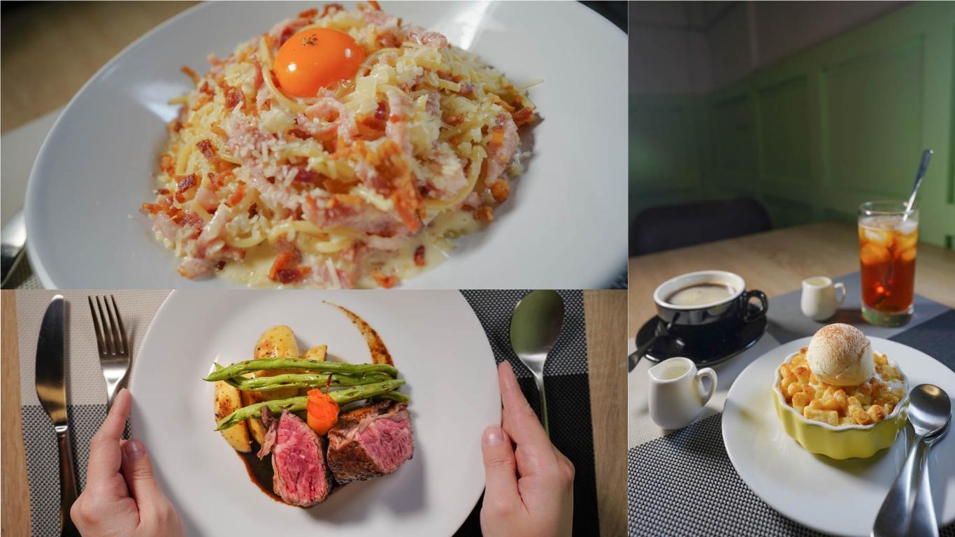 左營美食 樂思餐廳-曾在米其林餐廳,香港主廚不一樣的香港西式料理,鄰近凹子底森林公園