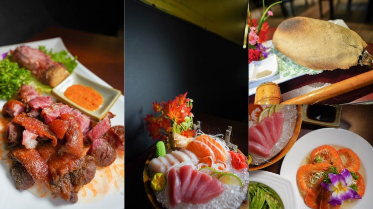 高雄年菜餐廳推薦 参伍海鮮碳烤-2人~10人年菜都有,農曆年春節限定套餐