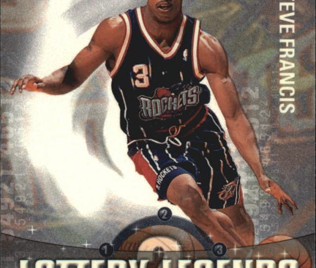2001 02 Topps Lottery Legends Rockets Basketball Card Ll2 Steve Francis