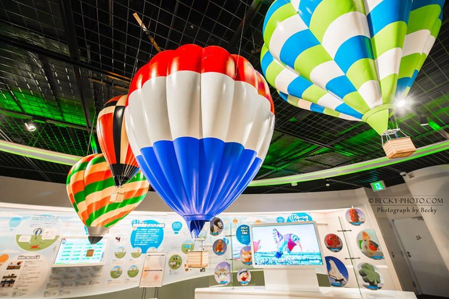 【九州】。日本親子旅遊點「佐賀熱氣球博物館」體驗熱氣球升空遊戲!