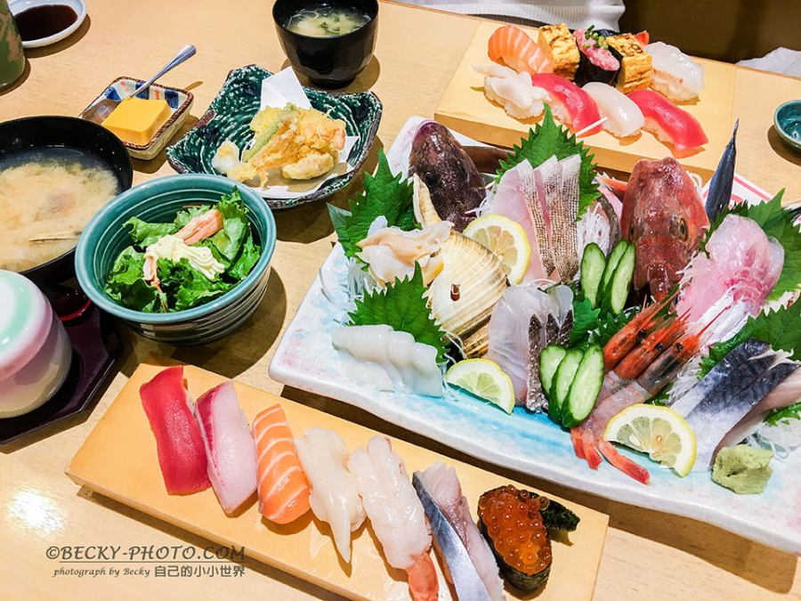 【新潟】。新潟車站餐廳 日本壽司店@富壽司<新潟JR PASS劃位前進福島>