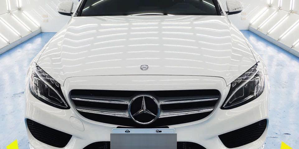 【台南汽車鍍膜】尊客汽車美容 賓士晶鑽鍍膜。老闆用心又實在!(2)