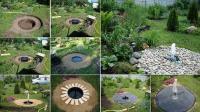 DIY Backyard Fontaine Buried / BeeVar.com