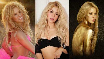Shakira ha llevado el pelo liso u ondulado durante la mayor parte de esta década