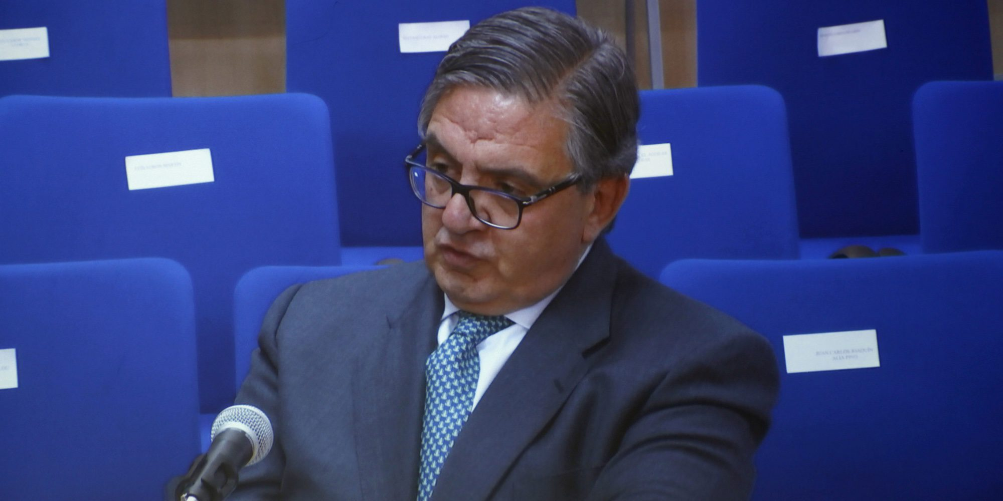 Carlos Garcia Revenga Testigo Mudo De La Presentacion Del