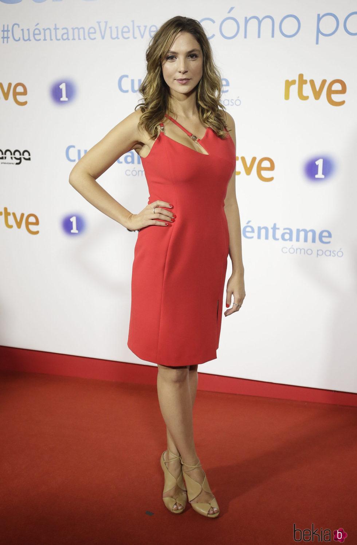 Paloma Bloyd en la premier de la 19 temporada de Cuntame