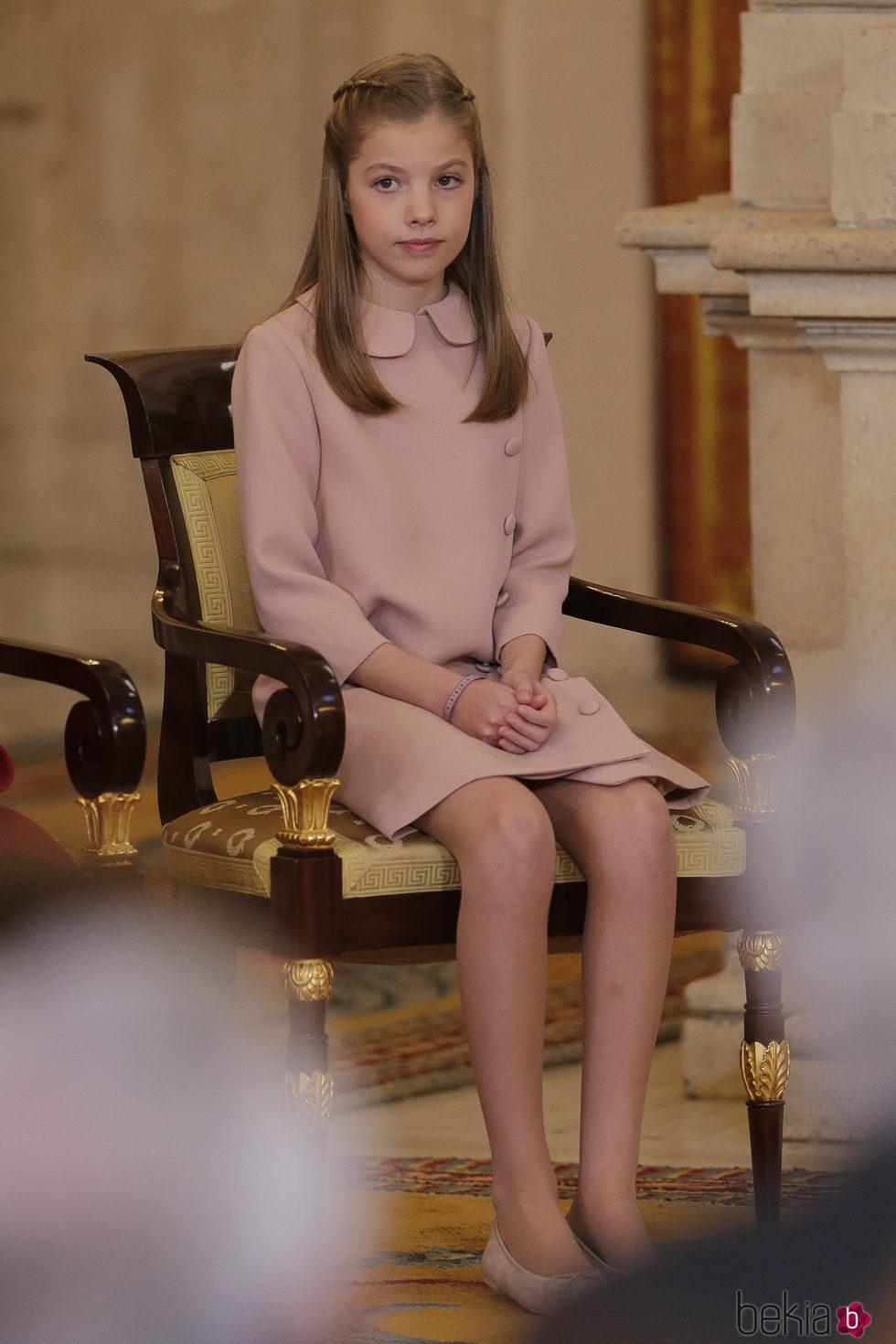 La Infanta Sofa en la entrega del Toisn de Oro a la