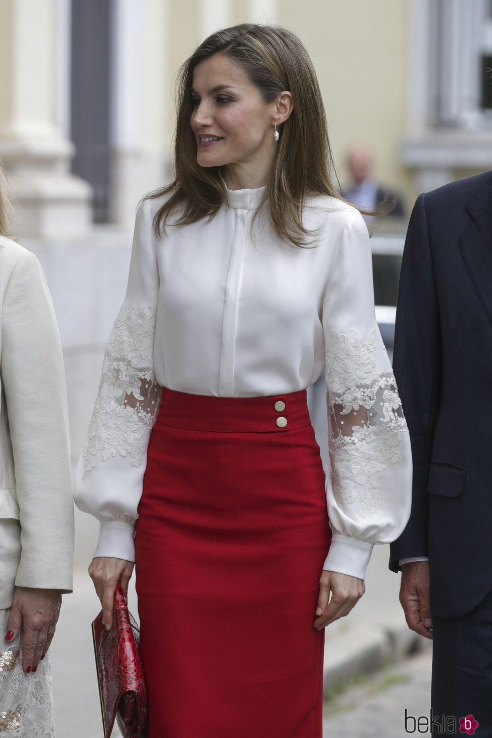 La Reina Letizia en el aniversario de la fundacin BBVA