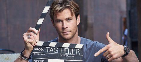 Chris Hemsworth luce músculos como nuevo embajador de los relojes TAG Heuer - Bekia Moda