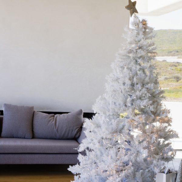 rbol de Navidad blanco  rboles de Navidad ideas de