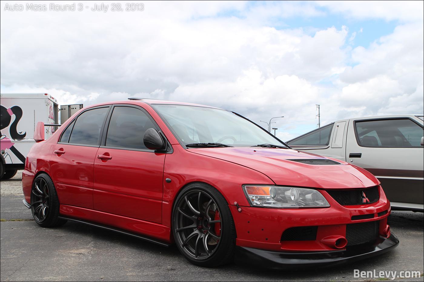 Red Lancer Evo