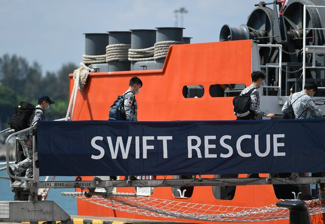 Neighbors Offer Assistance as the Search for the Missing Indonesian Submarine Continues