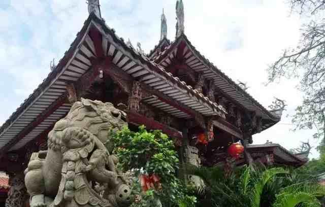 全域旅游每日一景——千年古刹灵源寺