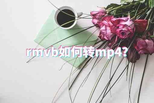 rmvb如何转换为mp4?这个方法简单易上手