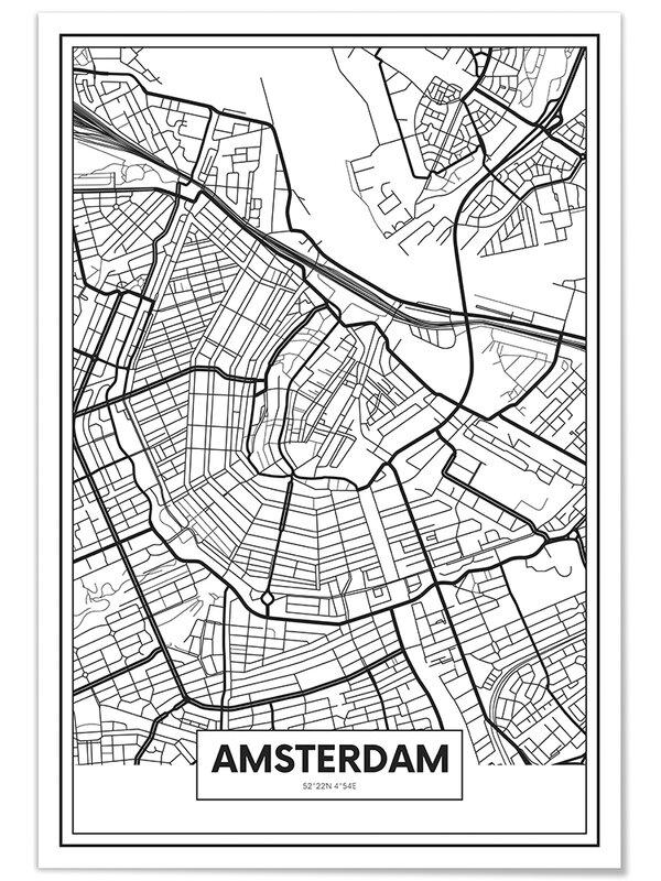 Tropicale, decorazione per soggiorno, stile moderno. Panorama Quadro Moderno Su Foam Stampe Da Parete Mappa Di Amsterdam Stampa Su Pannello Di Foam Di Alta Qualita Quadri Moderni Soggiorno Stampe Da Parete Moderne Decorazione Parete Complementi D Arredo