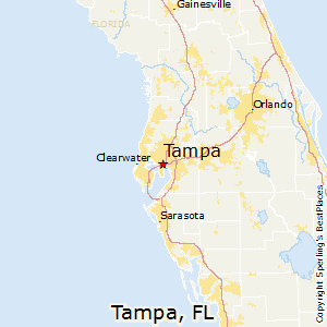 Best Places to Live in Tampa Florida