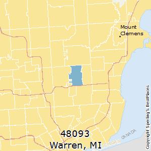 Best Places To Live In Warren Zip 48093 Michigan