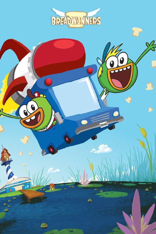 Breadwinners Rocket Van : breadwinners, rocket, Watch, Breadwinners, Episodes, Streaming, BetaSeries.com