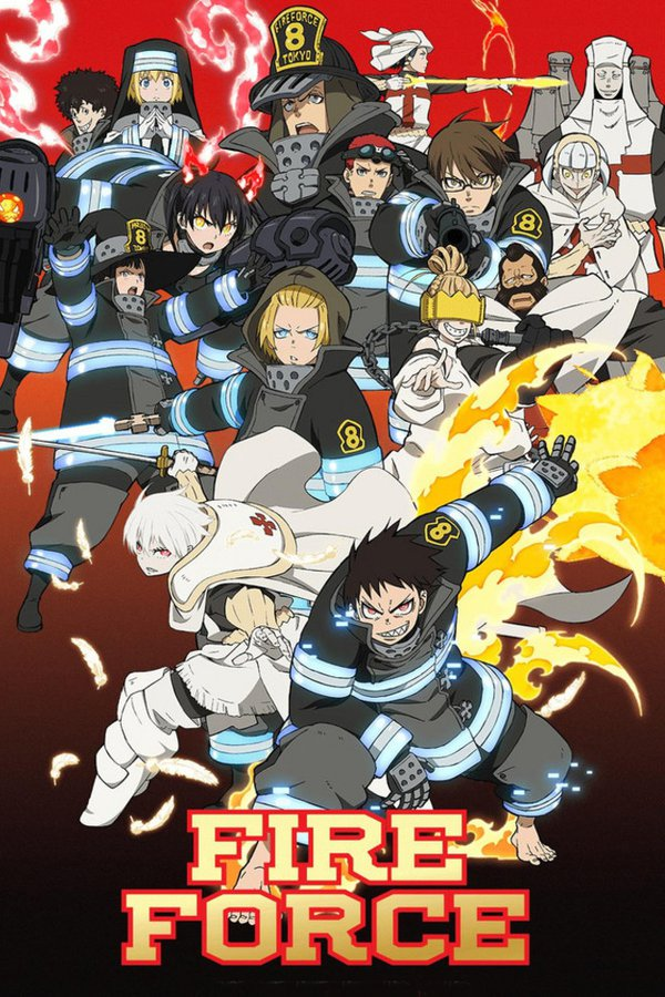 Fire Force Ep 10 Vostfr : force, vostfr, Watch, Force, Episodes, Streaming, BetaSeries.com