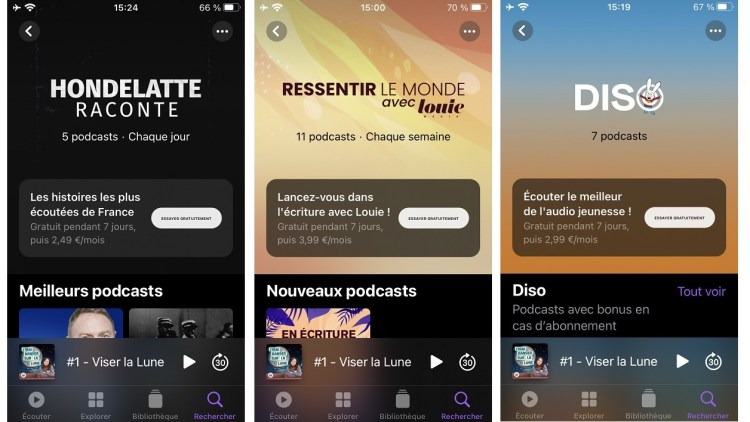 [HOT] : Apple launches paid subscriptions on Podcasts, how does it work?
