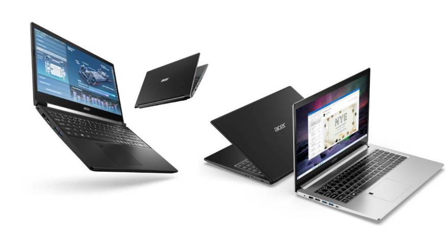 Acer Aspire 5 and Aspire 7 2021