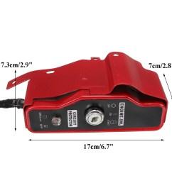ignition switch key panel electric start for honda gx340 gx390 11hp 13hp engine [ 1200 x 1200 Pixel ]