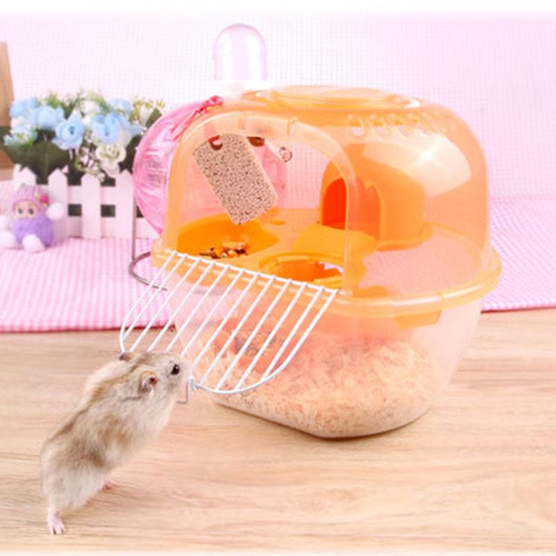 Gabbia Per Animali Domestici Gabbia Portatile Per Criceti A Forma Di Mela Gabbia Per Criceti In Plastica Per Esterni Di Lusso In Plastica