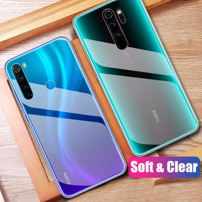 bakeey transparent ultra-thin soft tpu protective case for xiaomi ...