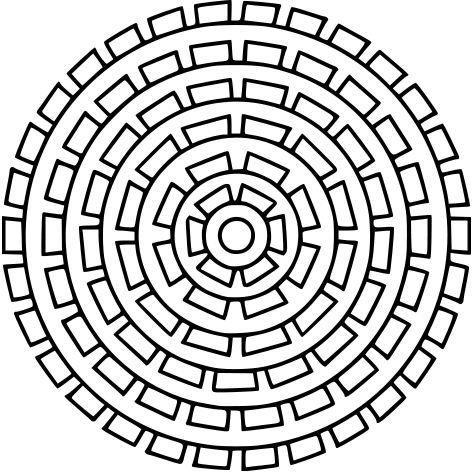 Mandala Art Lesson Plan: Handout & Activity