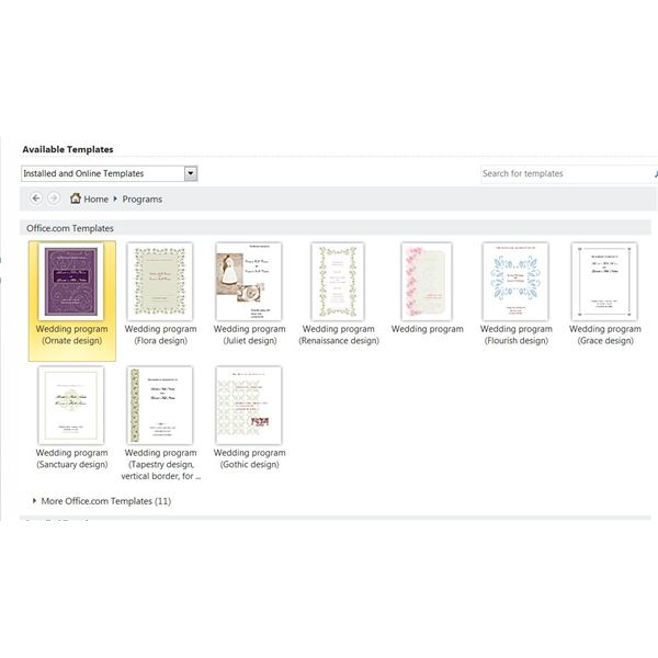 publisher 2003 templates