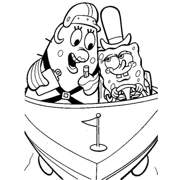 SpongeBob Coloring Sheets for Free Download