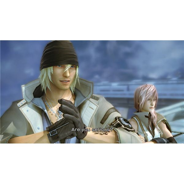 Final Fantasy XIII Snow Character Profile Amp Information
