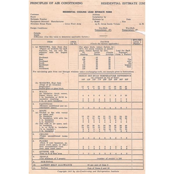 Electrical Load Calculation Excel Sheet