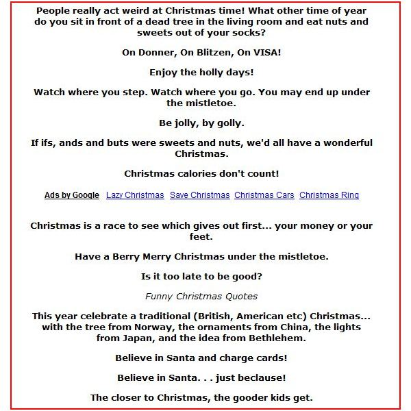 Christmas IIvitation Phrases To Reflect The Intended