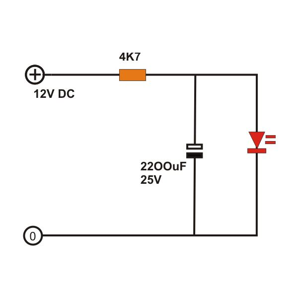 led light circuit diagram for dummies 400w hps wiring how to build ac dc fader circuits ordinary image