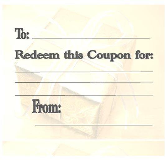 Make Own Coupons Printable Your