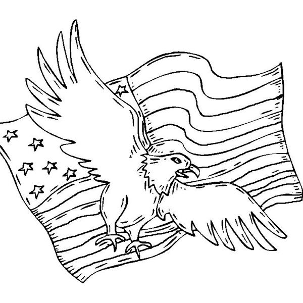 Free Patriotic Coloring Sheets for Children