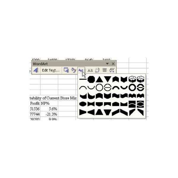 Mr. Excel Shows You How to Add WordArt to a Chart or WorkSheet