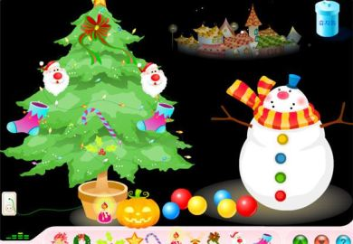 Decorate A Virtual Christmas Tree
