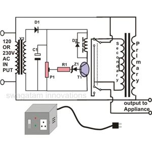 How to Make an Automatic Voltage Stabilizer? Circuit