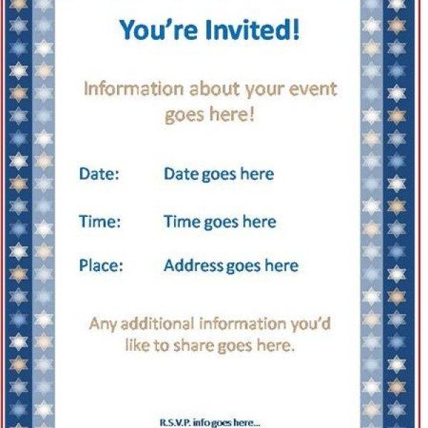 sample invitaion