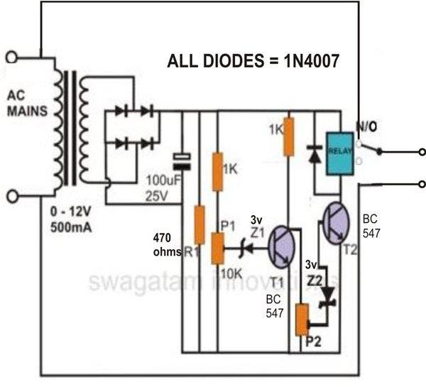how to build low voltage alarm