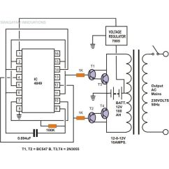 Daikin Split Ac 1 5 Ton Wiring Diagram Lighting Contactor Photocell Circuit Of Inverter Air Conditioner - And Schematic