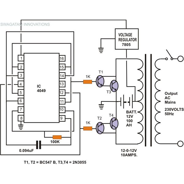 how to build a homemade power inverter  bright hub engineering