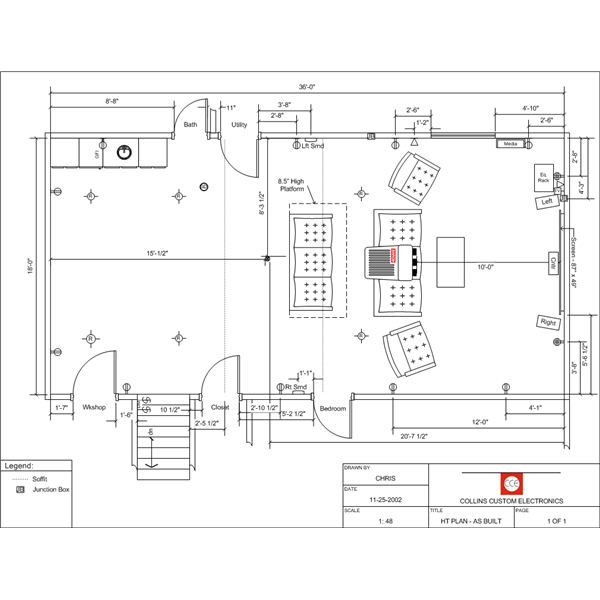 Ready to Build Home Theater Plans and How-to Guide