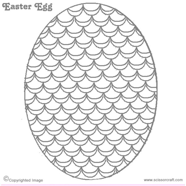 Fun Easter Egg Templates for DTP Projects: Available from