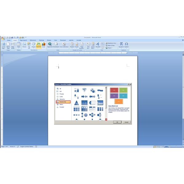 venn diagram on microsoft word ez go wiring for golf cart how to find and create blank diagrams in 2007 smartart pop up options