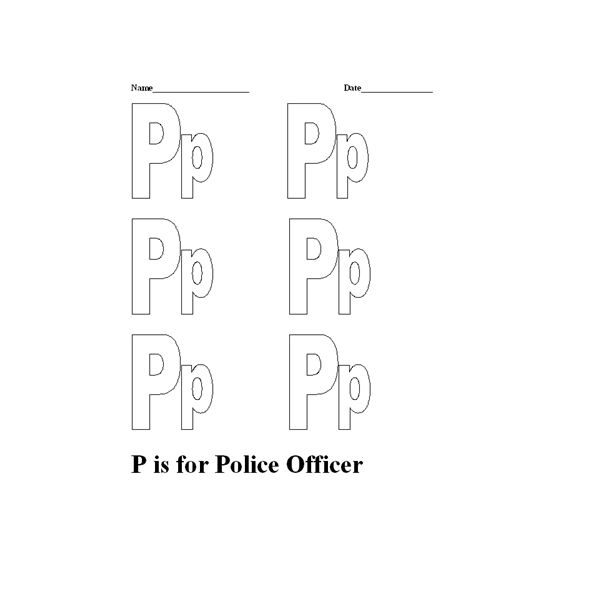 Police Activities for Kids: A Police Officer Lesson Plan